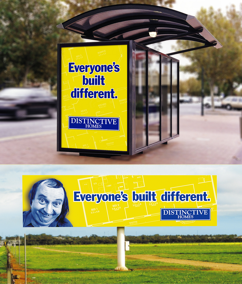 NrG Advertising Advertising Campaign for Distinctive Homes