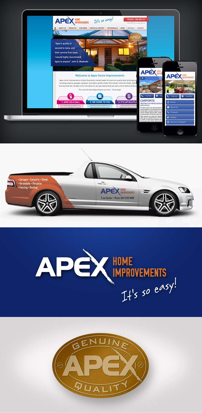 Apex Home Improvements Advertising and Marketing Campaign