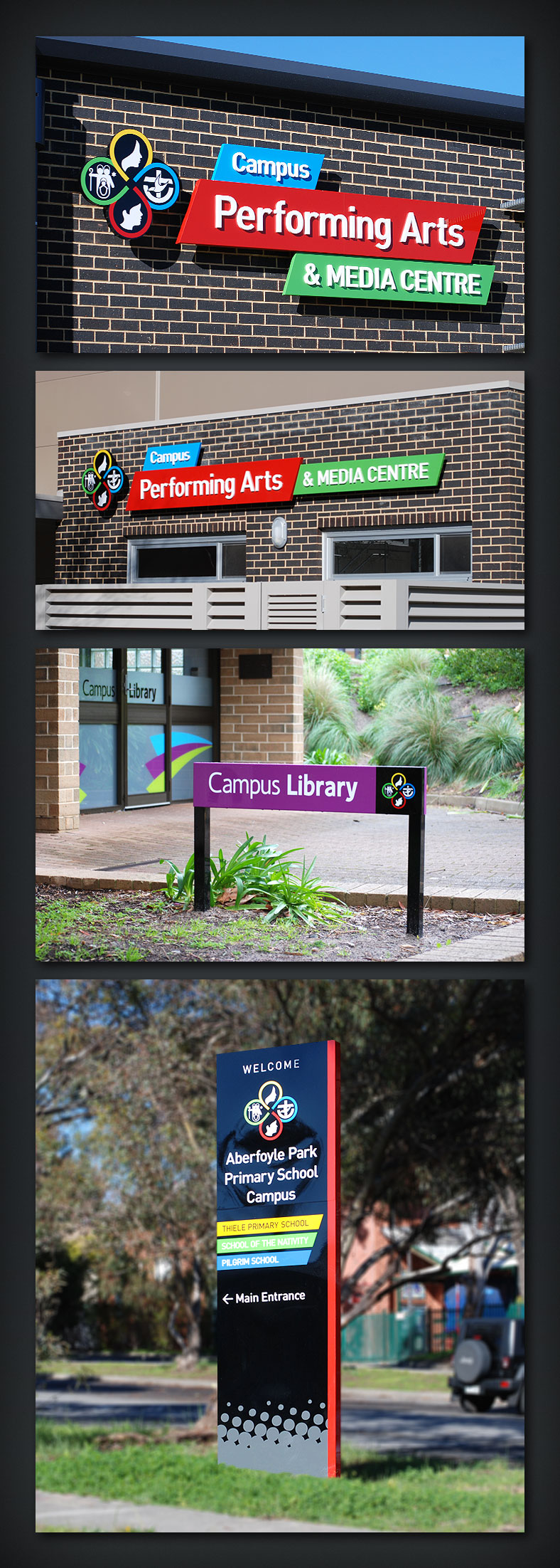 NrG Advertising - Aberfoyle Park Primary School Campus Signage