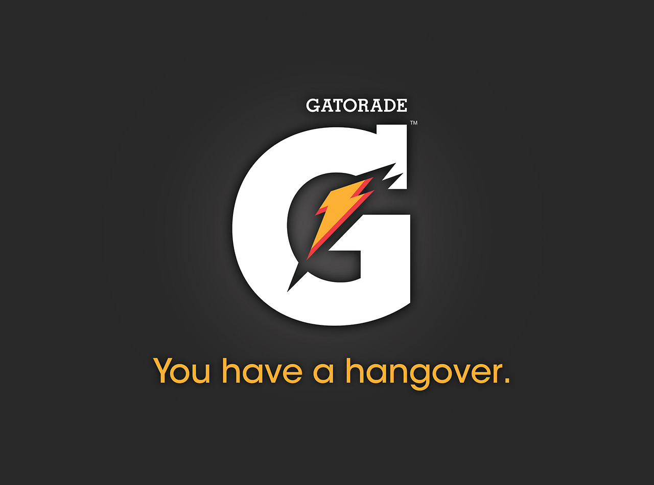 nrg advertising honest slogans esight gatorade