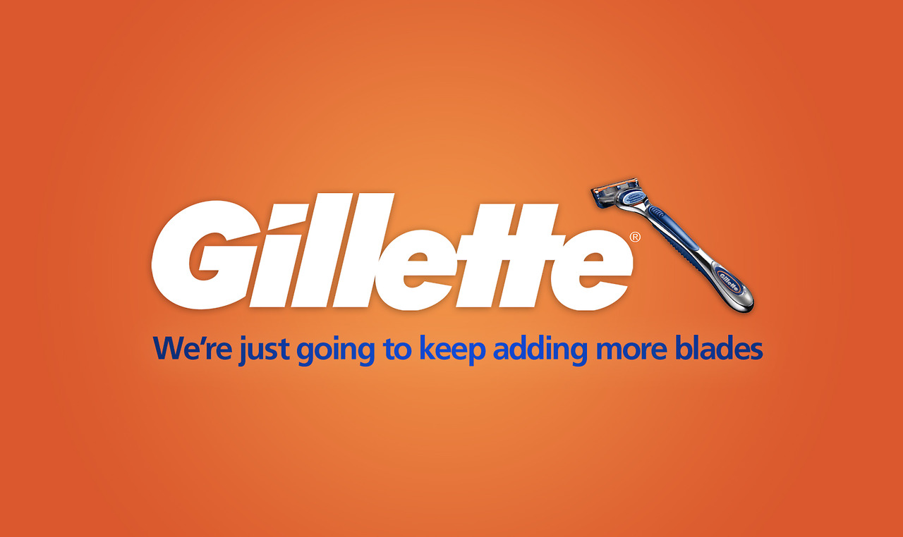 nrg advertising honest slogans esight gillette