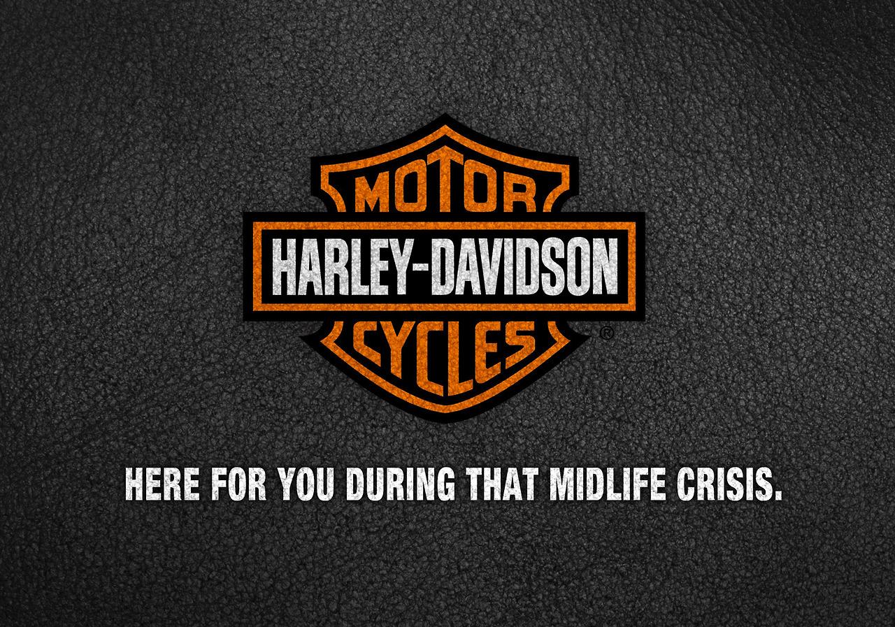 nrg advertising honest slogans esight harley davidson
