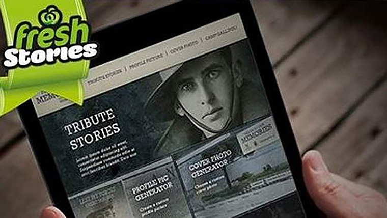 Woolworths Anzac Day Campaign Fresh in our memories