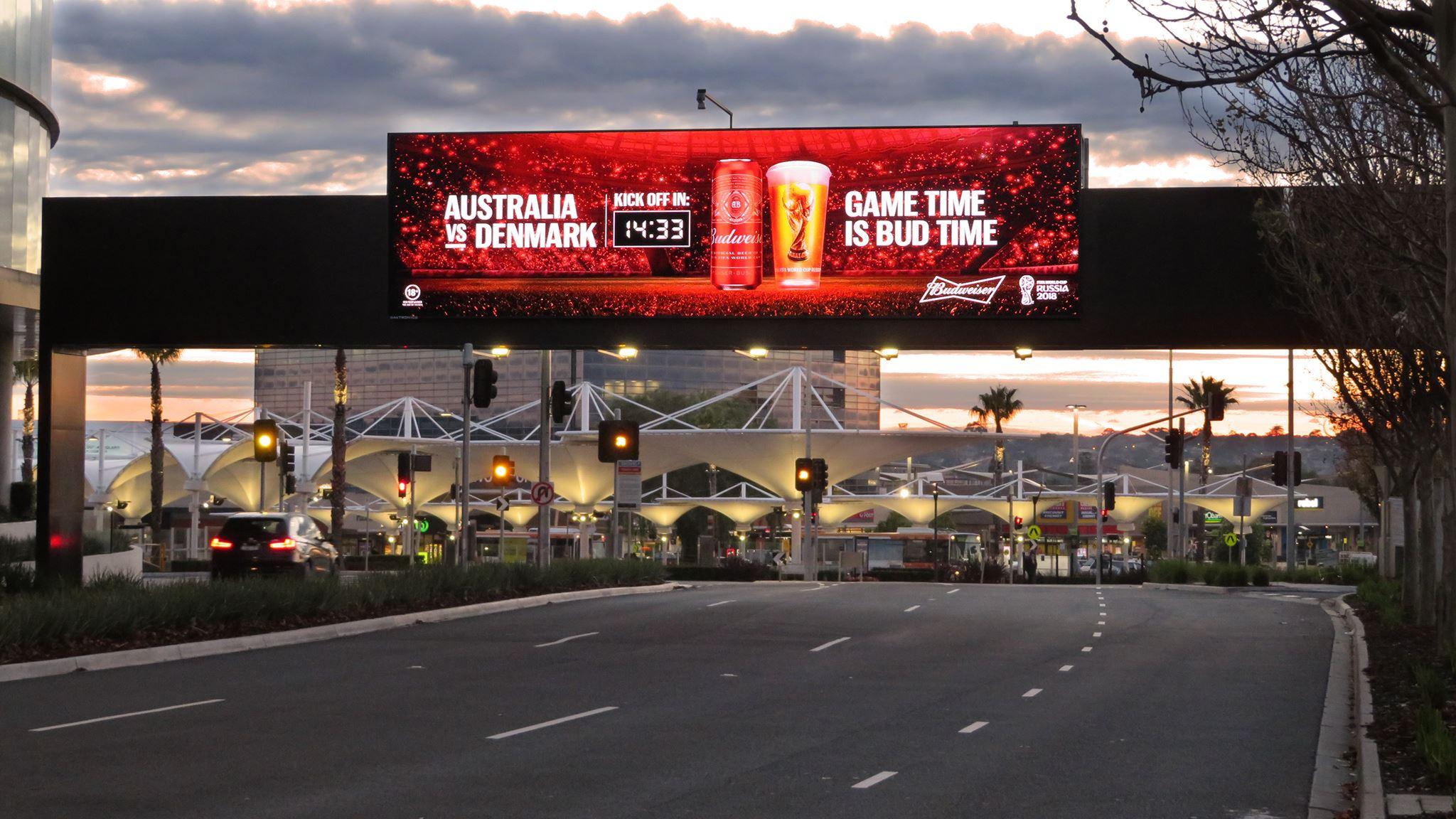 oOh! Budweiser Countdown 2