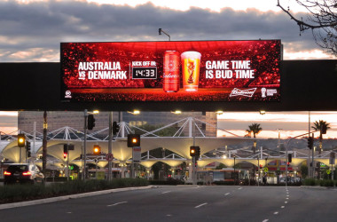 Budweiser World Cup 2018 oOh! Budweiser Countdown
