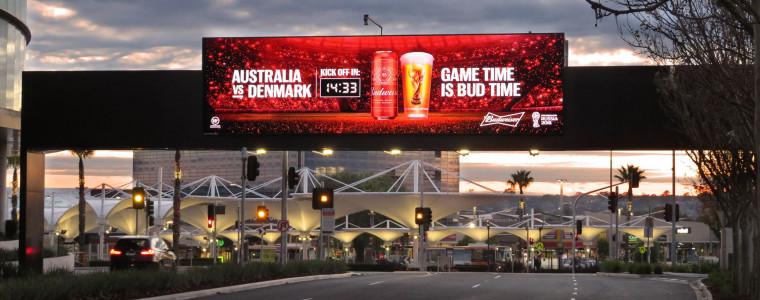 Budweiser World Cup 2018 oOh! Budweiser Countdown