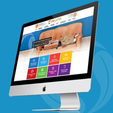NRG Advertising NAWMA Website Development