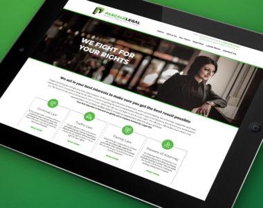 NRG Advertising Pascale Legal Website Development